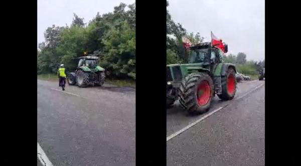 Rolnicy kontynuują strajk. Utrudnienia na kolejnych odcinkach
