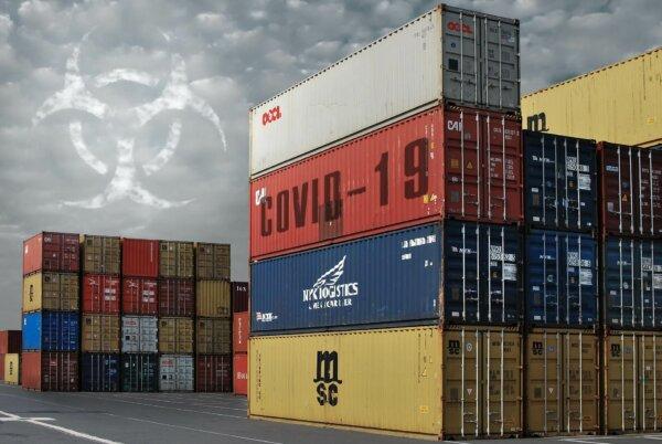 Wichtiges Containerterminal in China geschlossen wegen eines Corona infizierten Hafenarbeiters