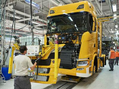 Scania anunță sistarea producției