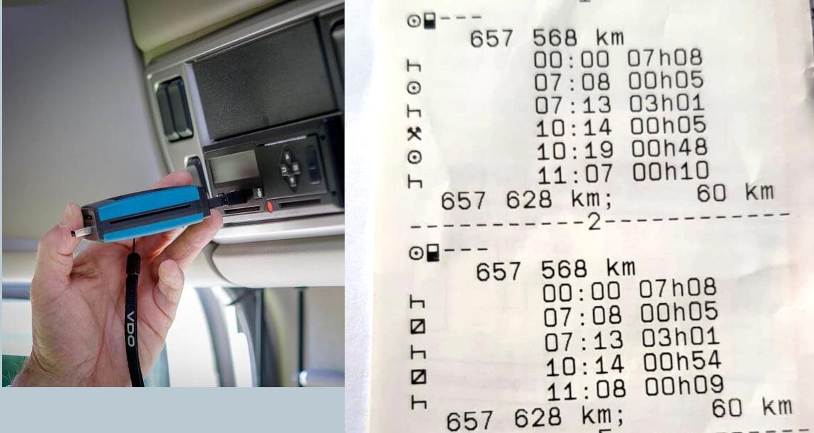 Digitale Revolution bei Fahrtenschreiberkontrollen – der Spediteur muss die Dateien übermitteln