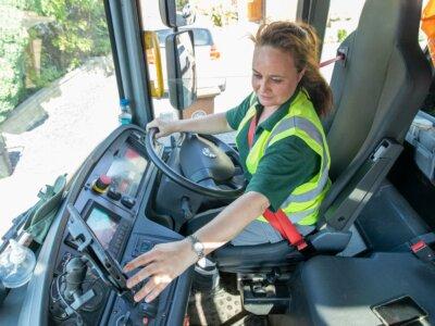 Bin lorry operator targets women in bid to fill driver vacancies