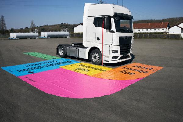 Korrekte Spiegeleinstellung beim LKW hilft Leben zu retten