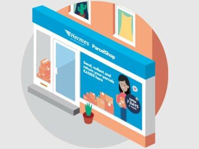 Hermes Parcelshop network to expand across the UK courtesy of Tesco partnership