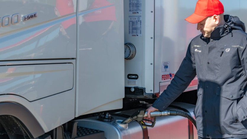 Could fuel hedging reduce the volatility of road transport costs?