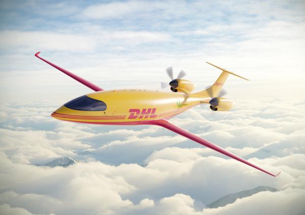 DHL Express zamówiło dwanaście elektrycznych samolotów towarowych. Ładowność – mniejsza niż w popula