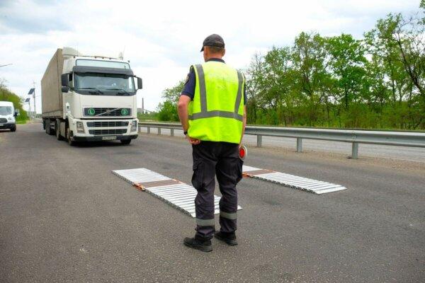 В Украине перегруженные грузовики будут штрафовать автоматически