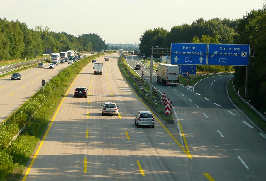 Niemiecka autostrada w kierunku Berlina zamknięta przez 4 dni