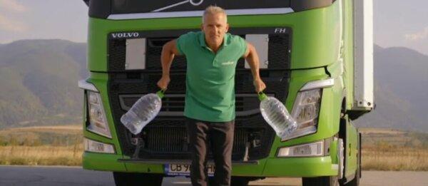 Un legendar campion olimpic a dezvoltat un program de antrenament special pentru șoferii de camion