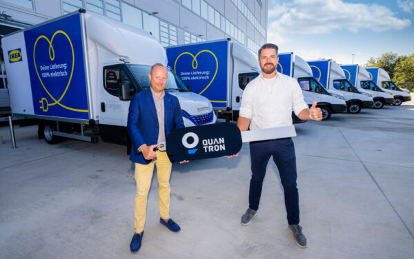 Flota elektrycznych vanów będzie wozić dostawy Ikei w Wiedniu i okolicach