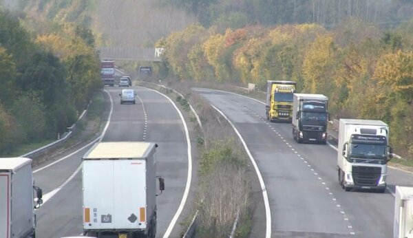 Stretch of A2 in Kent to be closed for up to 8 weekends