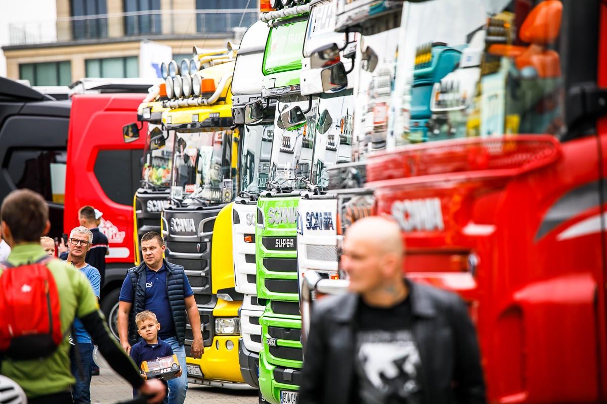 Parada głównymi ulicami Gdańska i wybory najpiękniejszej ciężarówki – nadchodzi dzień pełen wrażeń ze Scanią