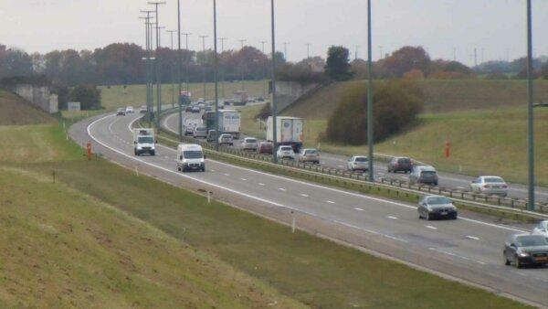 Uwaga na roboty na belgijskim odcinku europejskiej trasy E17. Dwa weekendy utrudnień