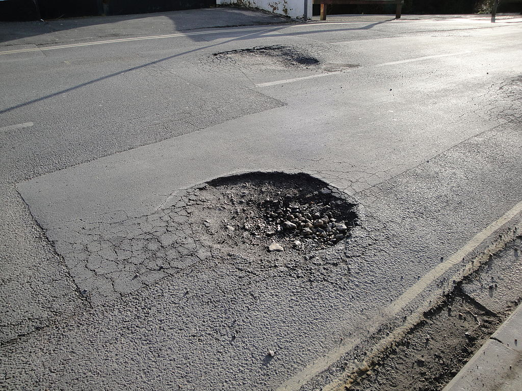 DfT to look into use of drones and 3D printing to fix potholes