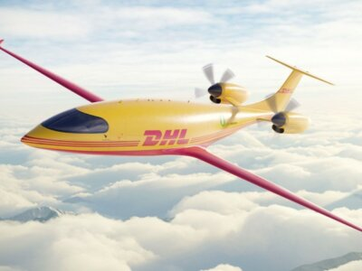 DHL orders 12 fully electric Alice eCargo planes from Eviation