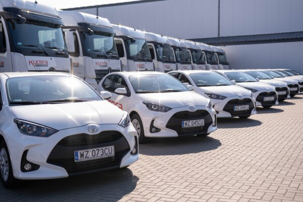 Polish logistics firm provides company cars to long-serving truck drivers