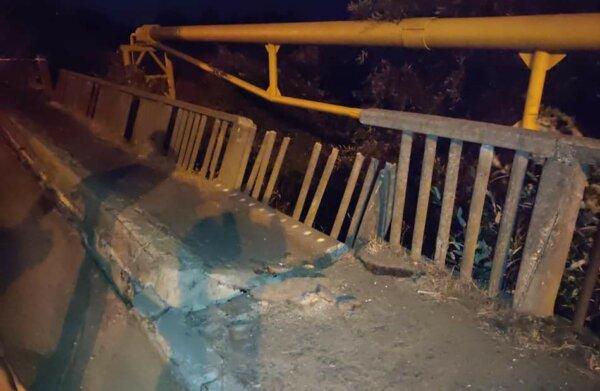 Restricții de tonaj pe un pod din România care riscă să se prăbușească
