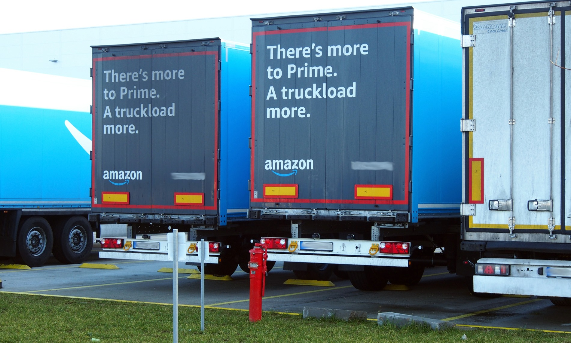 Special Euroterminal for Amazon drivers and new unaccompanied freight trains by GetLink