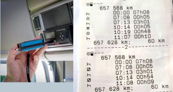 Skaitmeninė revoliucija vykdant tachografų kontrolę. Vežėjas privalės siųsti failus patikrinimui