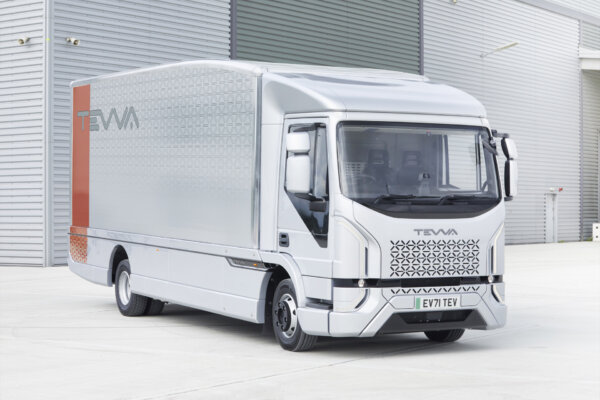Tevva unveils 1st electric lorry designed for mass production in the UK