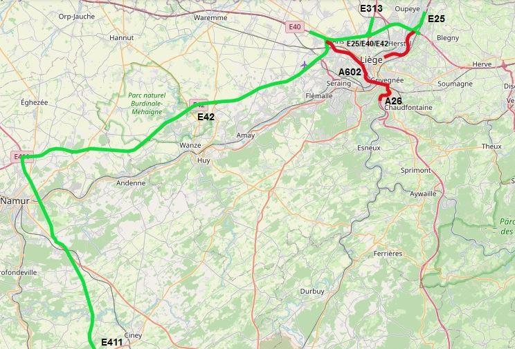 Belgijskie miasto wprowadza zakaz ruchu dla tranzytu powyżej 7,5 t. Ograniczenia aż do połowy października