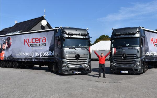 Dwa wyjątkowe Actrosy dla kierowców z polskiej firmy. W ten sposób doceniono ich pracę