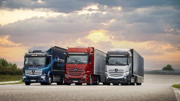 Mercedes-Benz Trucks will sich bis 2039 vollständig auf elektrisch angetriebene Lkw umstellen
