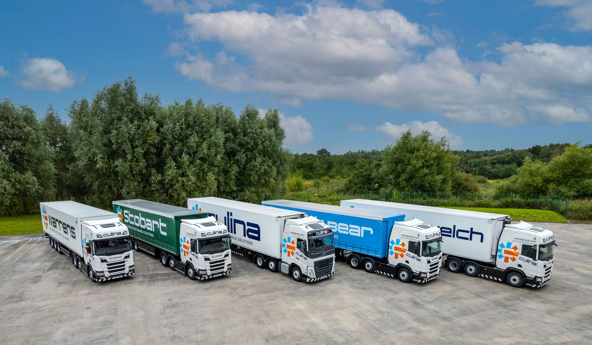 New look for Stobart trucks and trailers following Culina acquisition