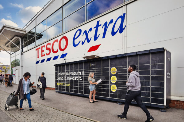500 Tesco stores to get InPost parcel lockers by the end of November