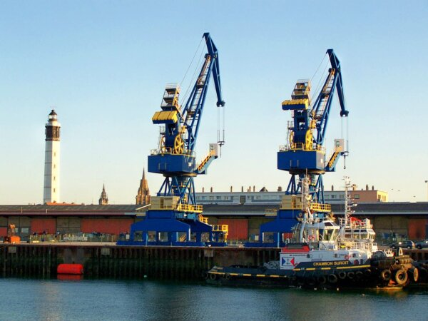 Calais Port expansion completed after 6 years of work