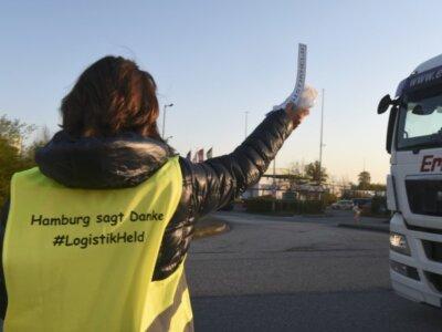 """""""Hamburg vă mulțumește"""" – Germanii au lansat o campanie prin care își arată recunostința față de șof"""