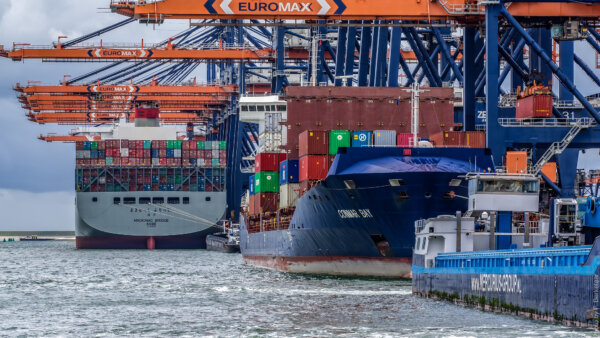 More Asian goods arriving in the Netherlands via the UK
