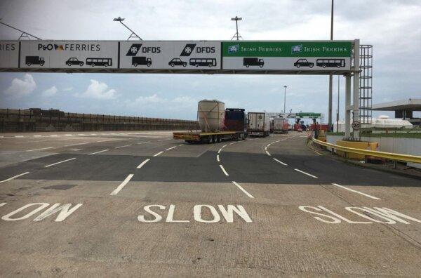 Правительство Великобритании перенесло проверки товаров из ЕС