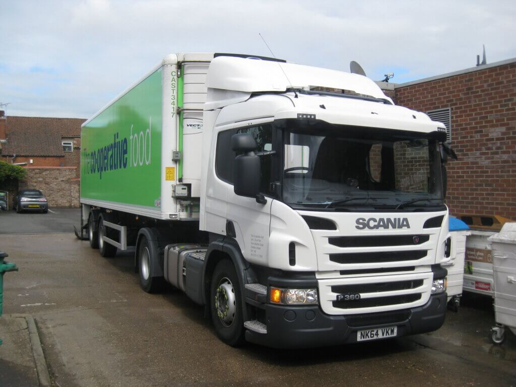 More than 1000 Co-op HGV drivers and 200 Hanson drivers get pay rise