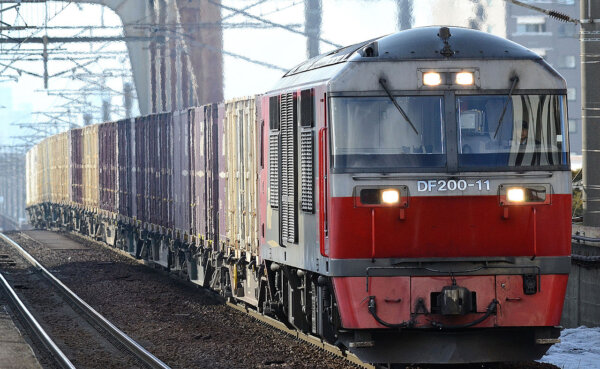 More than 10,000 freight trains between Europe and China in just 8 months