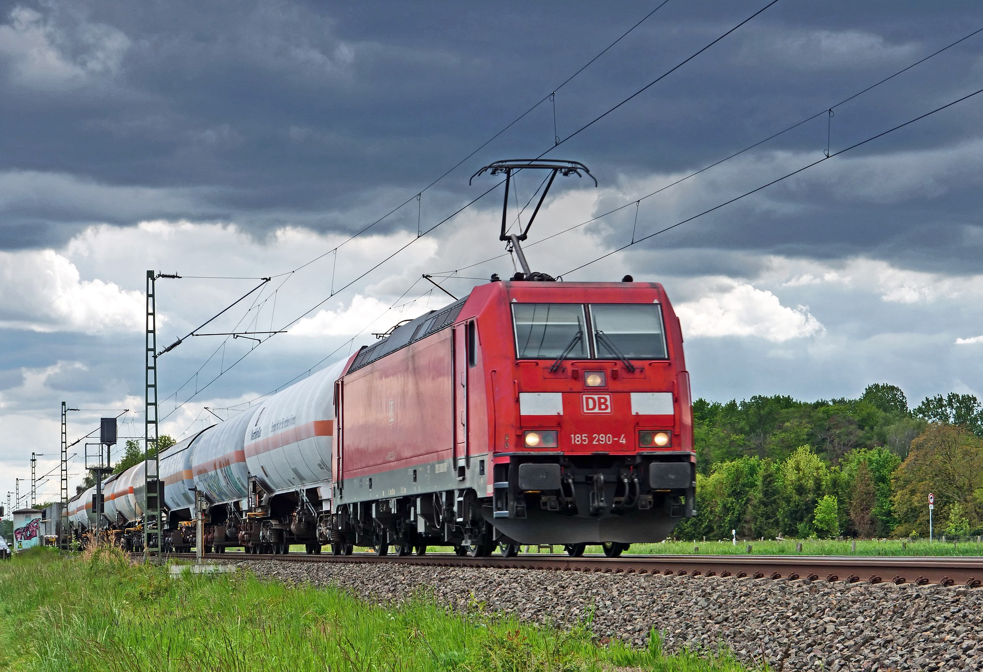How the German train drivers' strike affects freight trains