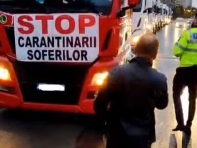 Două organizații ale transportatorilor s-au retras din protestul de astăzi