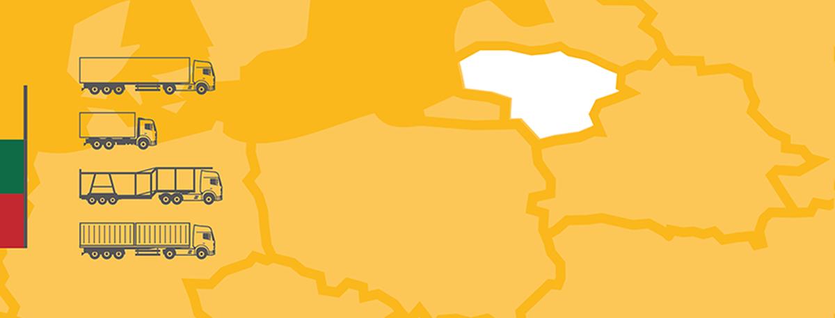 Do Polski przeniosło się już prawie 500 litewskich przewoźników. Do końca roku ich flota wzrośnie do 4,5 tys. pojazdów