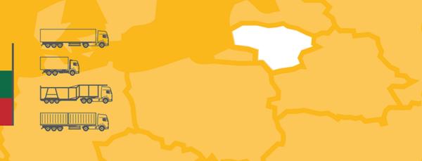 Aproape 500 de transportatori lituanieni și-au transferat operațiunile în Polonia. Până la sfârșitul