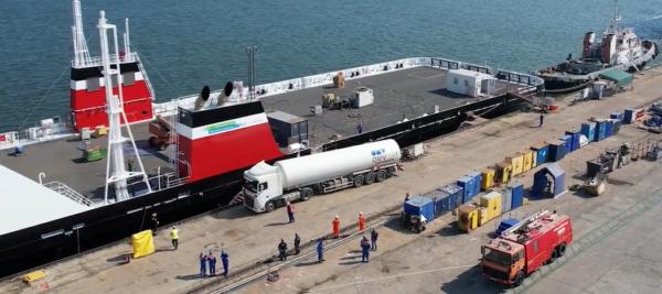 OMV Petrom a finalizat cu succes prima livrare de gaz natural lichefiat din România