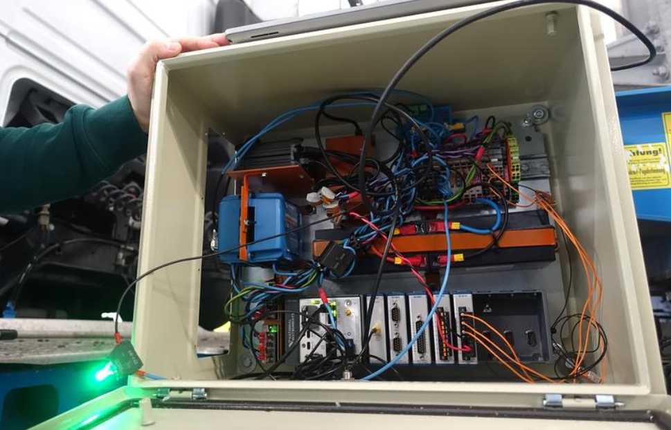 Niemiecki wynalazek zoptymalizuje załadunek i uniemożliwi przeładowanie ciężarówki