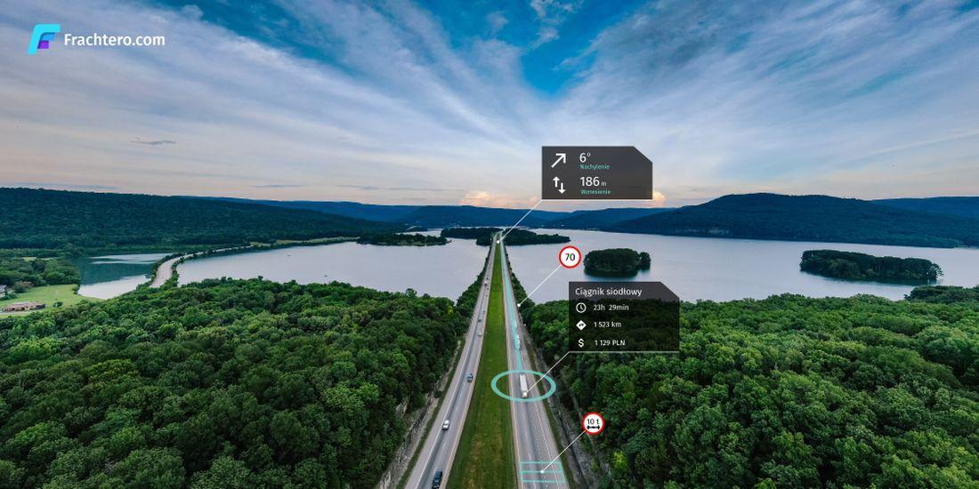 Frachtero.com – Alternatywa dla Google maps z pełnymi kosztami transportu plus trasy alternatywne