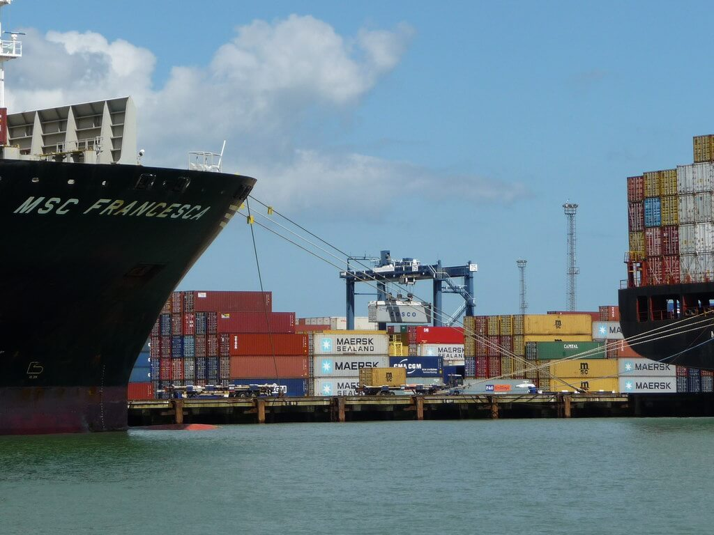"""Import container storage fees at British ports shoot up; forwarder says """"industry is f****d"""""""