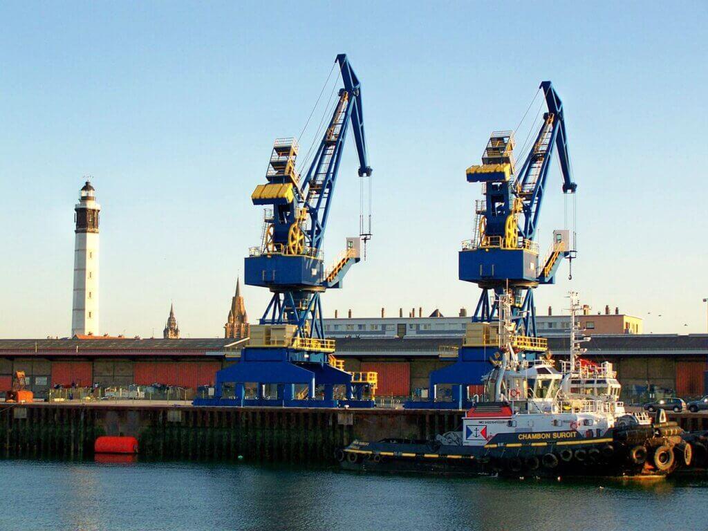 Portul Calais a fost extins și modernizat