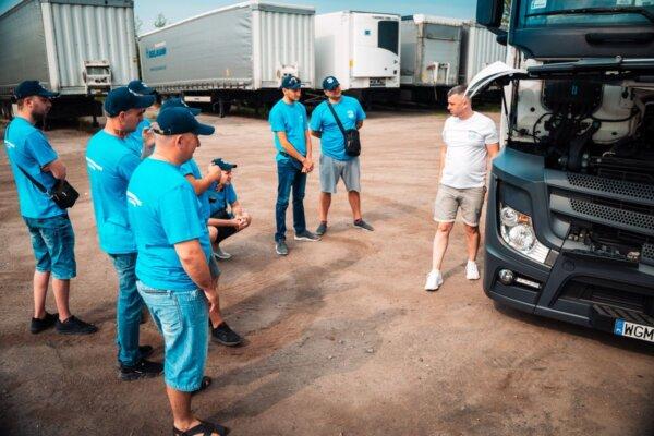 Сами обучат для себя водителей. В основном украинцев и белорусов