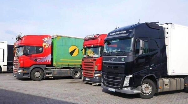 Didžiosios Britanijos vyriausybė atveria rinką užsienio vilkikų vairuotojams