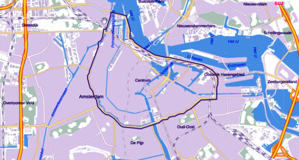Lorries over 30 tons will be banned from inner Amsterdam