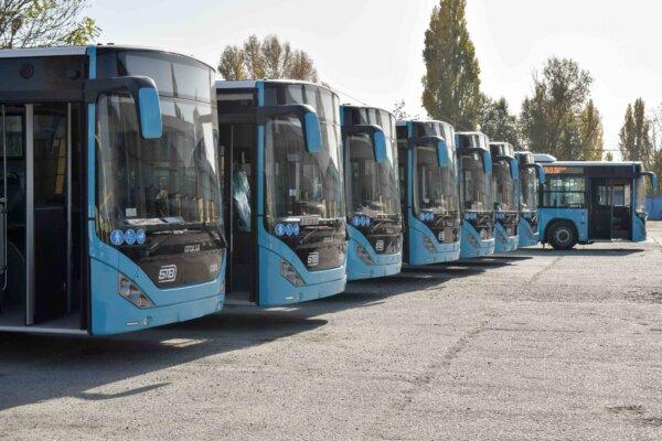 Amenzi pentru șoferii de autobuze în București