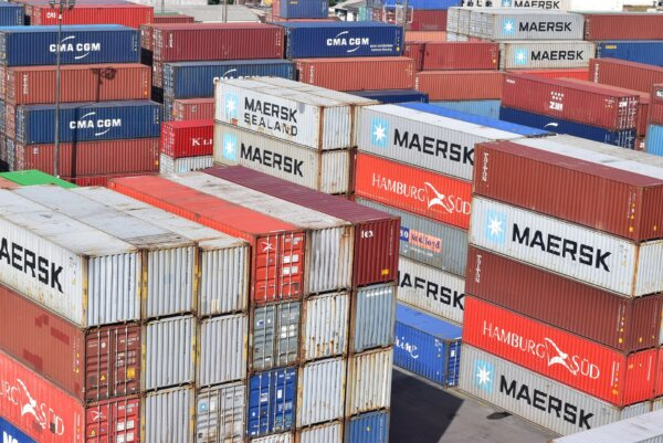 Our economy relies on shipping containers. This is what happens when they're 'stuck in the mud'