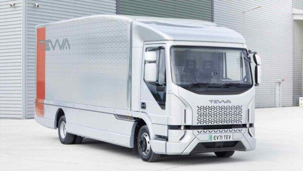 Camioanele electrice Tevva vor intra în producția de serie