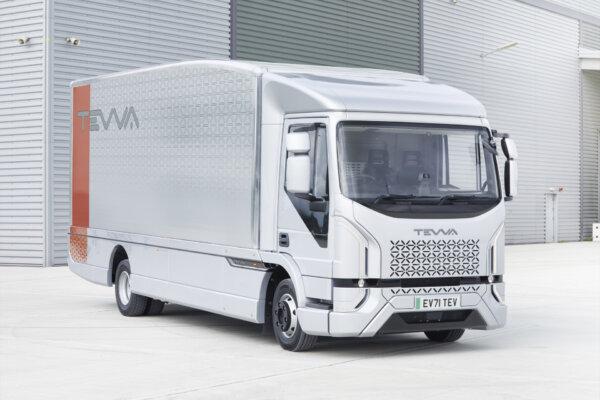 Brytyjski elektryczny truck, który trafi do masowej produkcji. Jaki zasięg zaoferuje przewoźnikom?